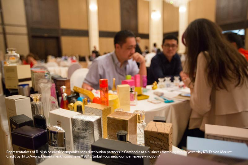Turkish Cosmetic Companies Eye Kingdom
